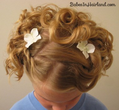 Cascading Pinned Up Curls (20)