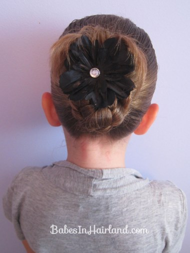 Bun for Shorter Hair (9)