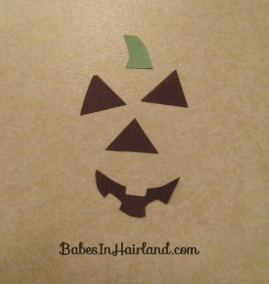 Halloween Hair - Jack O' Lantern Bun (2)