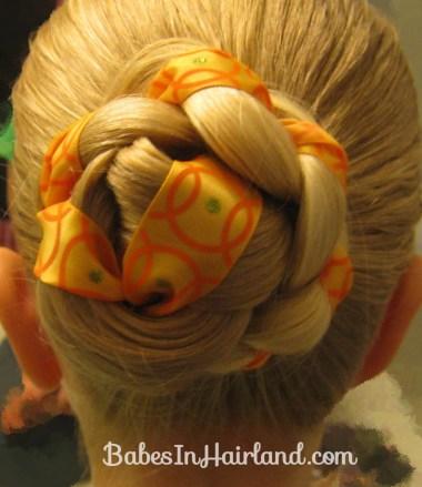Halloween Hair - Jack O' Lantern Bun (6)