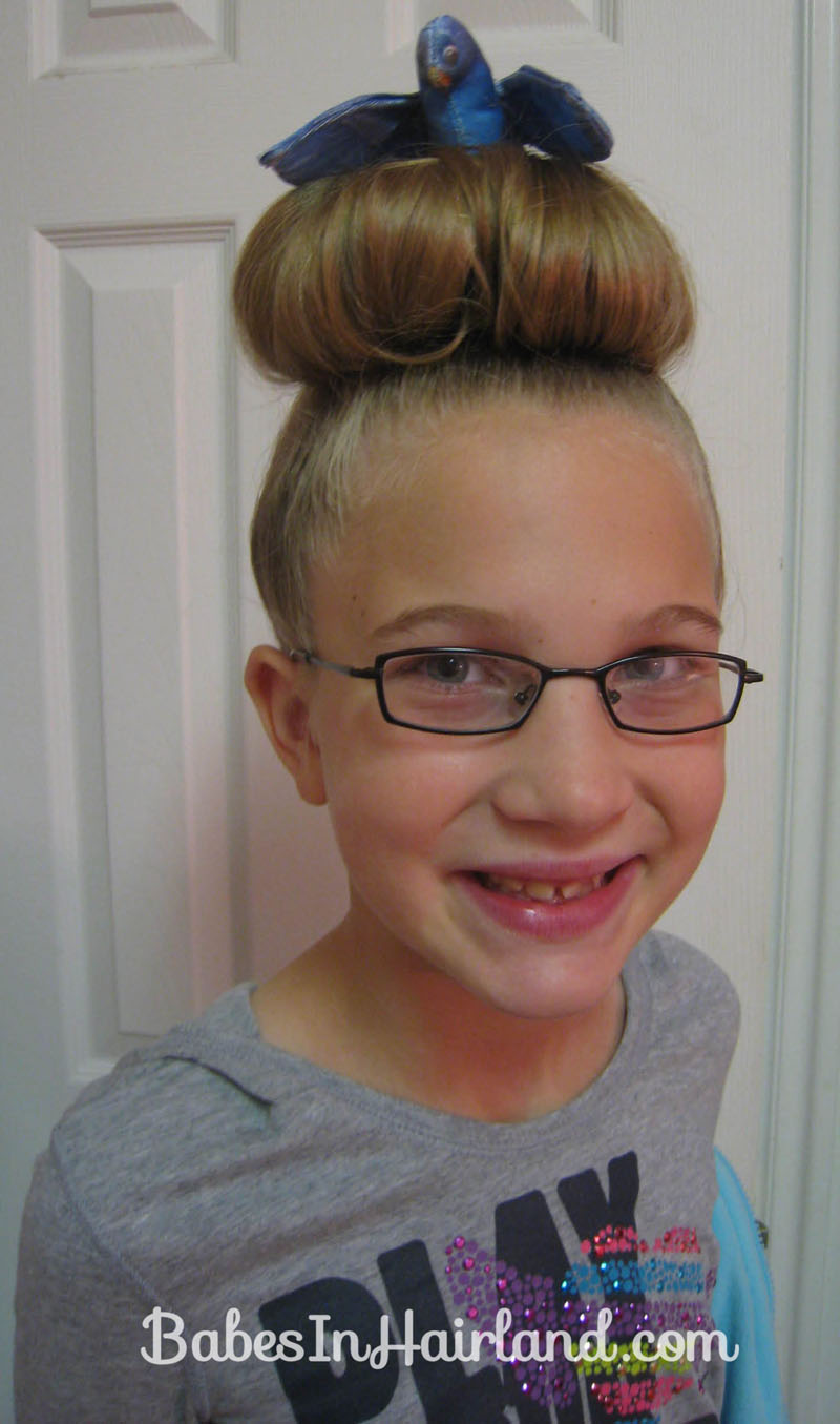 crazy hair day styles - babes