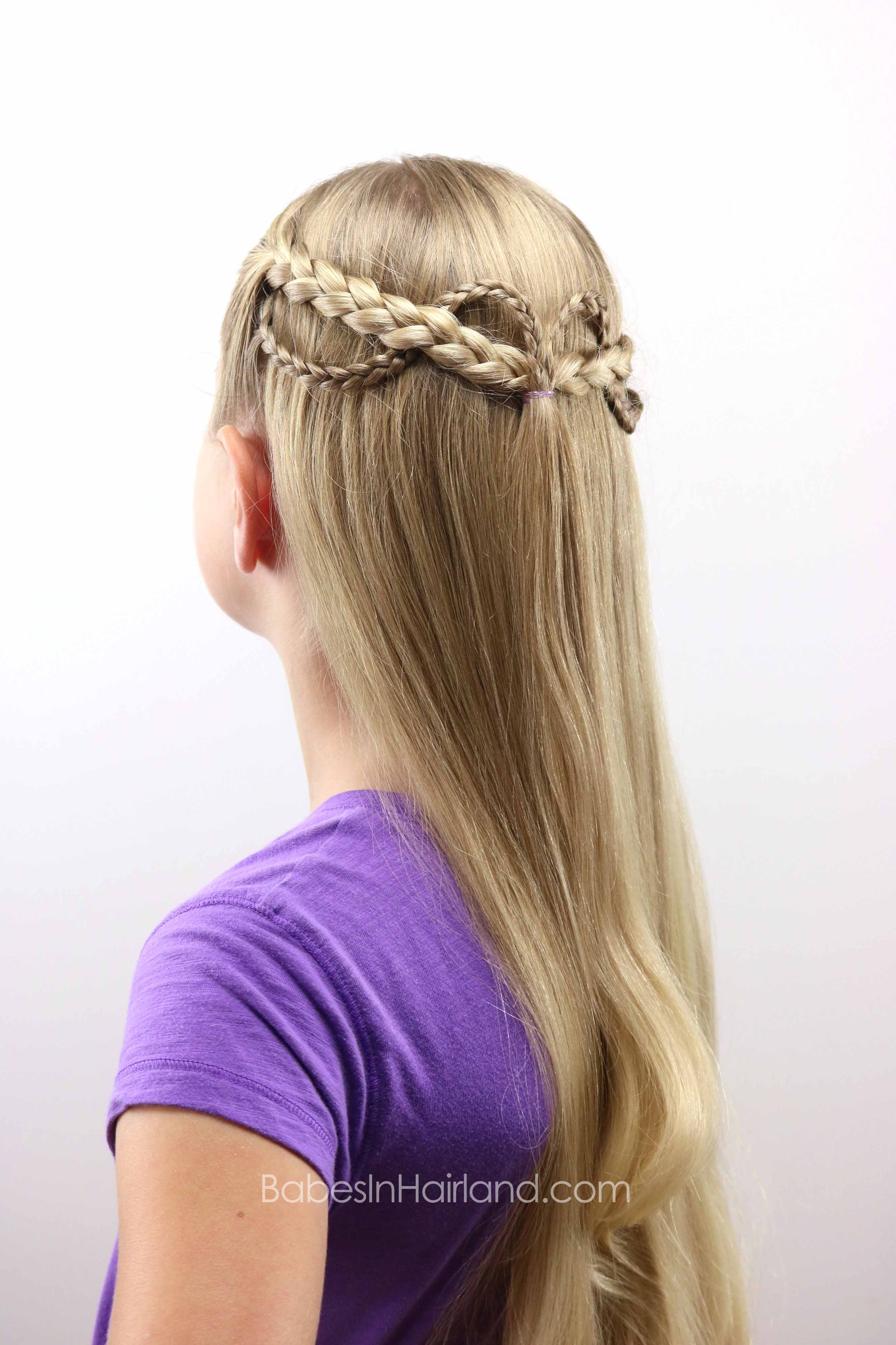Roller Coaster Braids Back To School Hairstyle Babes