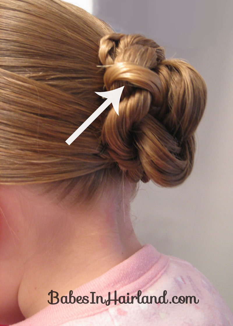 Double Rope Braided Updo Babes In Hairland