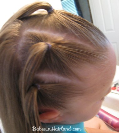 Knotty Flower Girl Hairstyle (3)