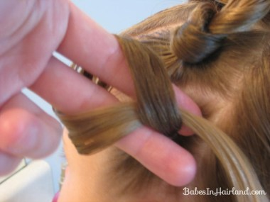Knotty Flower Girl Hairstyle (4)