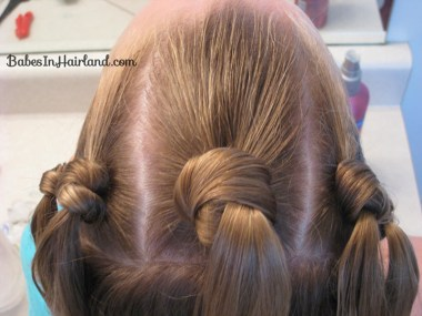 Knotty Flower Girl Hairstyle (7)
