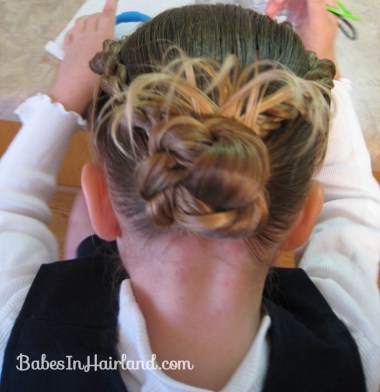 Rope Braids back to a Bun (5)