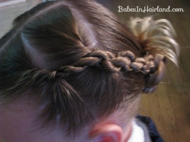 Rope Braids back to a Bun (4)