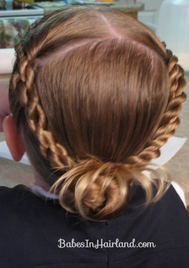 Rope Braids back to a Bun (3)