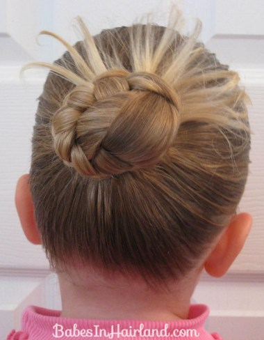 Rope Braids back to a Bun (2)