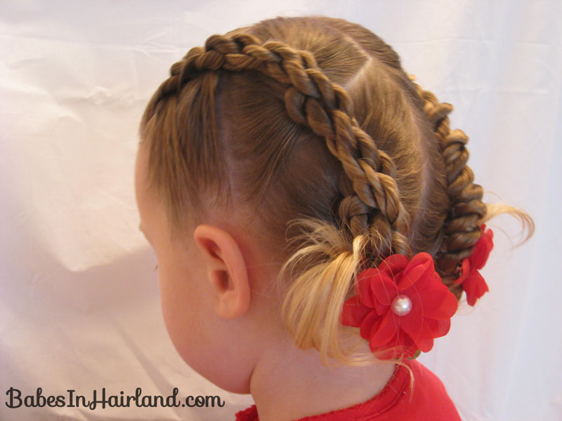 4 Rope Braid Twisted Hairstyle - Babes In Hairland