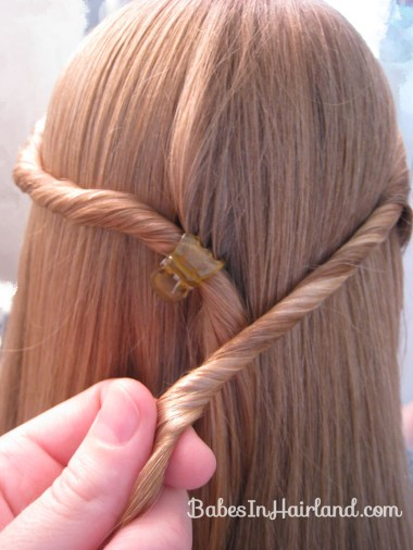 Twisted Knot Hairstyle | Teen Hairstyles (5)