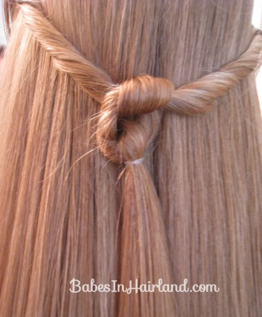 Twisted Knot Hairstyle | Teen Hairstyles (10)