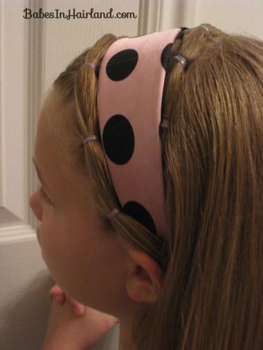 Polka Dot Headband Hairstyles (14)
