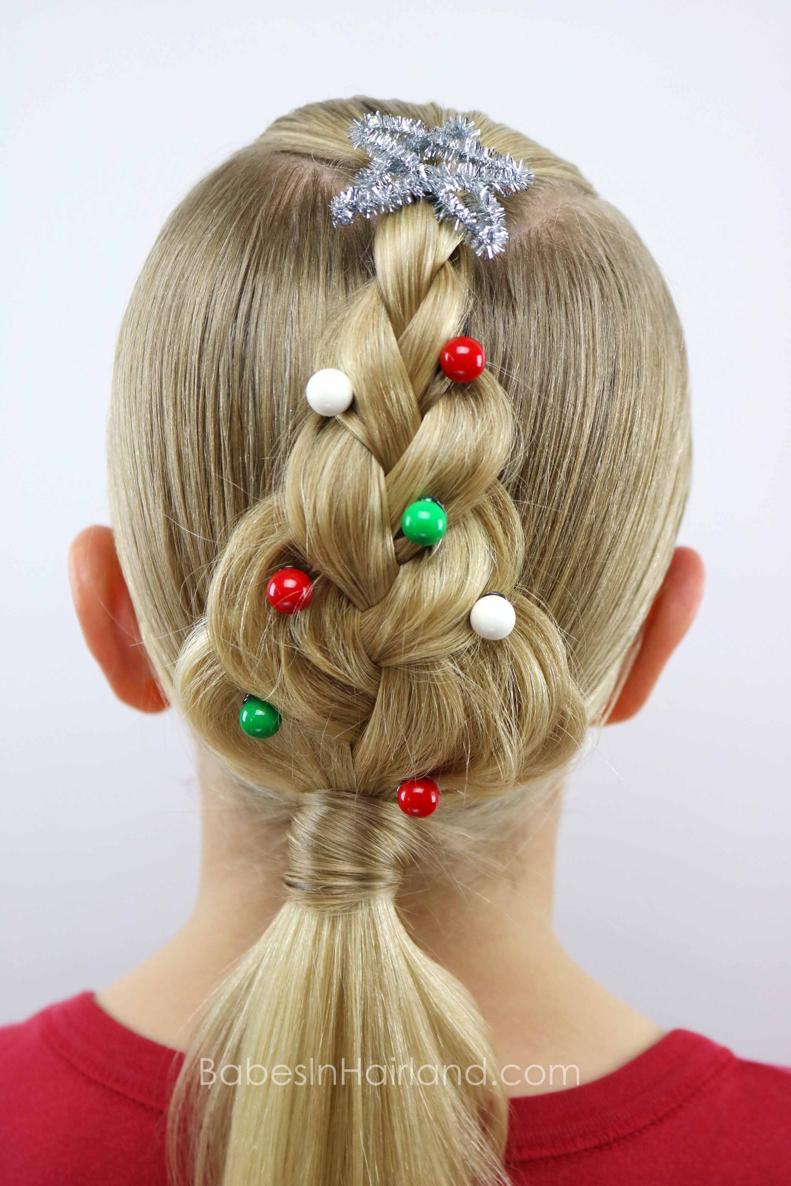 cute christmas hair styles tree braid in hairland 5427 | IMG 5271 1G