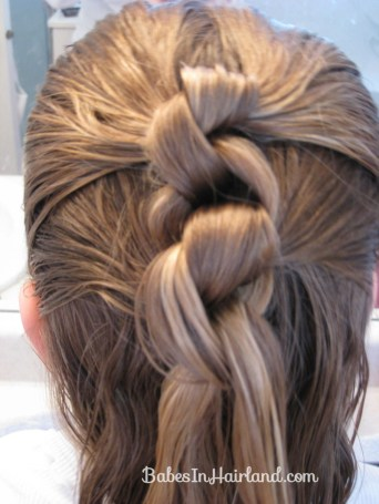 Row of Knots Hairstyle (5)