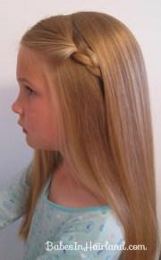 2 simple ways pull bangs