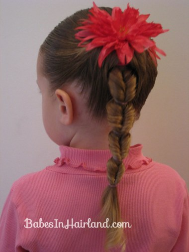 Fake Fishbone Hairstyle (1)