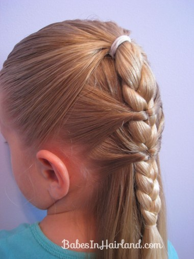 Side Braid and a Topsy Tail Twist (11)
