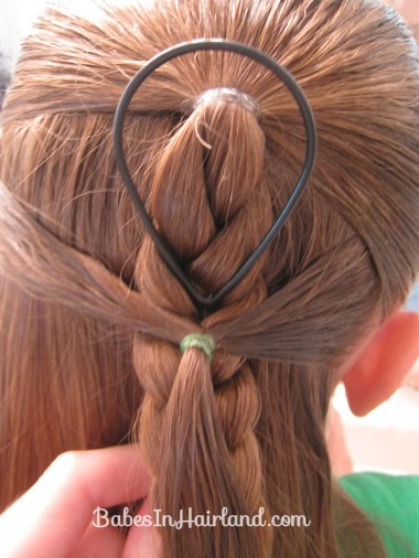 Side Braid and a Topsy Tail Twist (4)