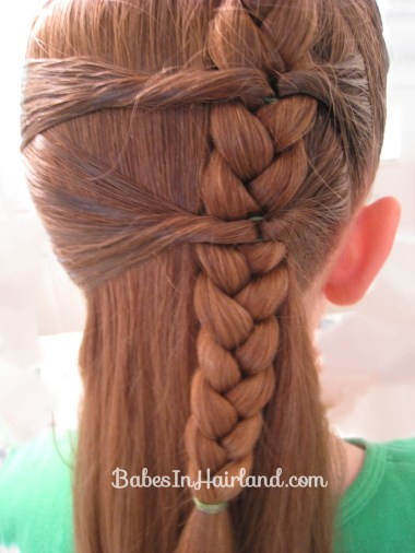 Side Braid and a Topsy Tail Twist (7)