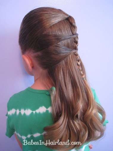 Side Braid and a Topsy Tail Twist (10)