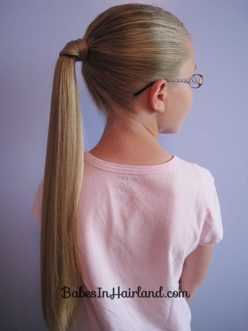 Ponytail With Hair Wrapped Around : ponytail, wrapped, around, Wrapped, Ponytail, Babes, Hairland