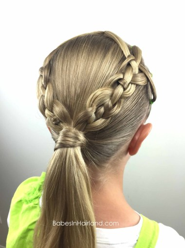 Ponytails and 4 Strand Braids from BabesInHairland.com #ponytails #4strandbraids #braids #hair #hairstyle