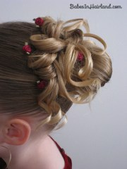 easter updo - babes in hairland