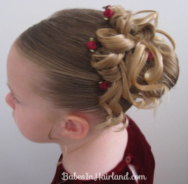 Easter Updo Hairstyle (1)
