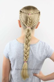 summer and sports braided hairstyle