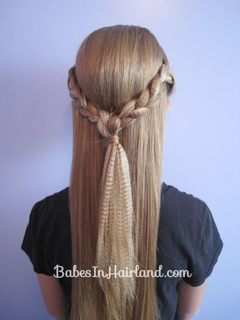 Crimped Knotted Braid Pullback