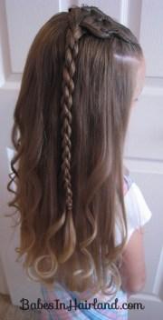 cornrows and 4 strand braid