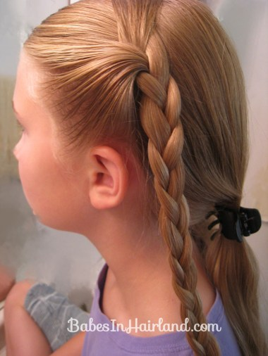 Crimped Braids and Messy Bun (3)
