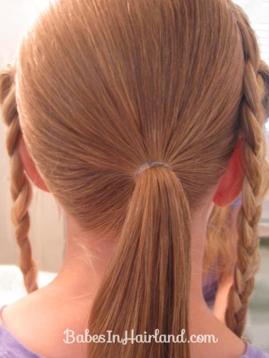 Crimped Braids and Messy Bun (6)