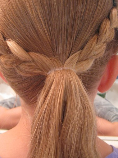 Crimped Braids and Messy Bun (7)