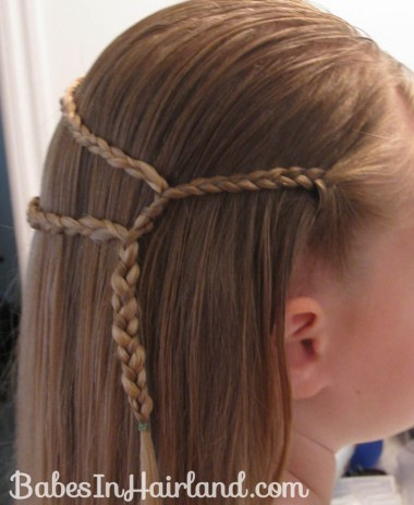 Small Wrap Around Braid Hairstyle (3)