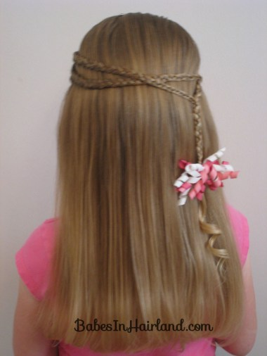 Small Wrap Around Braid Hairstyle (6)