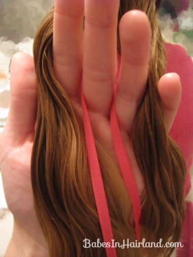 4 Strand Braid with Ribbon In It (5)