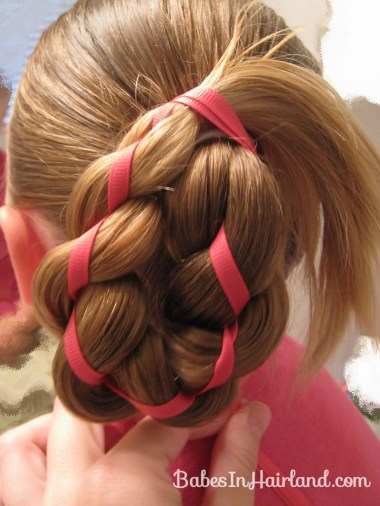 4 Strand Braid with Ribbon In It (8)
