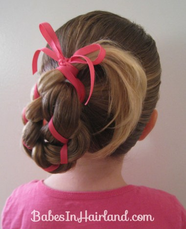 4 Strand Braid with Ribbon In It (10)