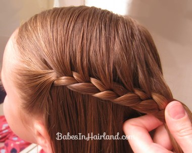 Half-French Braided Updo (4)