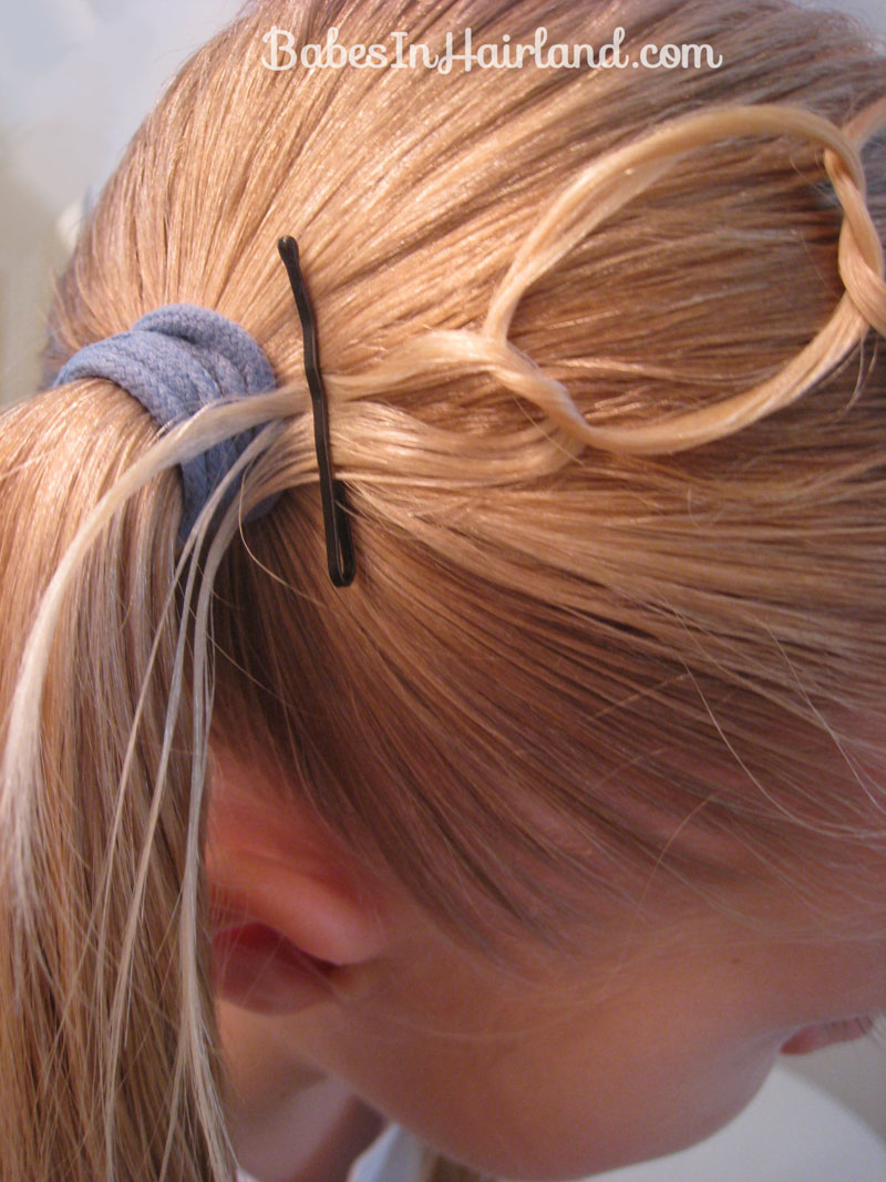 Double Chain Headband Amp Messy Buns Babes In Hairland