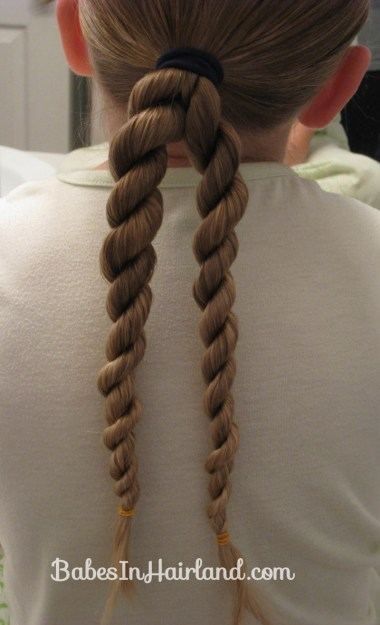 How to do a Hawser Braid (2)