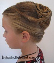 elegant french twist updo & giveaway