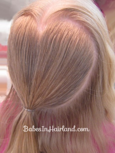 Rolled Heart | Valentine's Day Hairstyle (3)