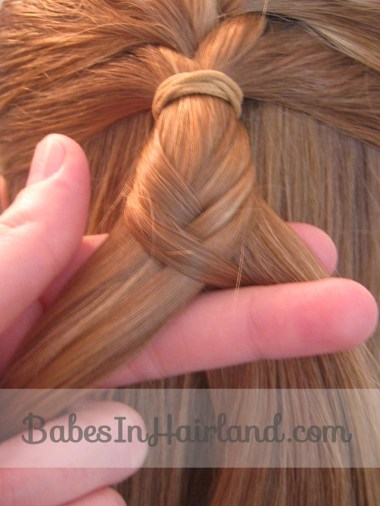 French Braid into a Fishbone Braid from BabesInHairland.com (3)