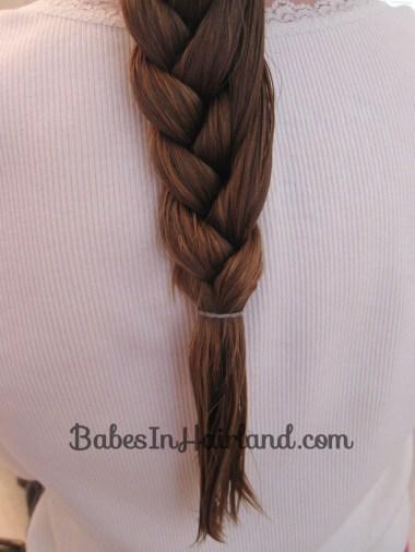 Half French Braid Hairstyle - BabesInHairland.com (10)