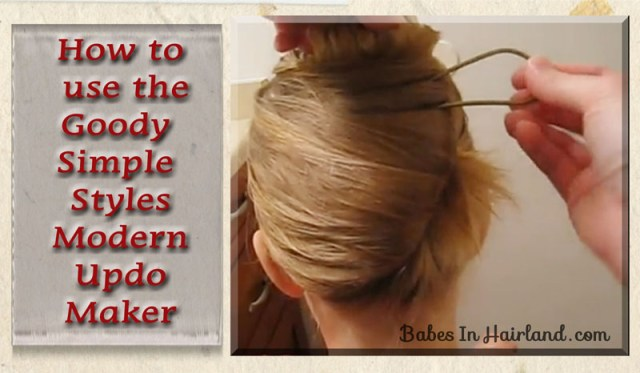 Goody's Modern Updo Maker (1)