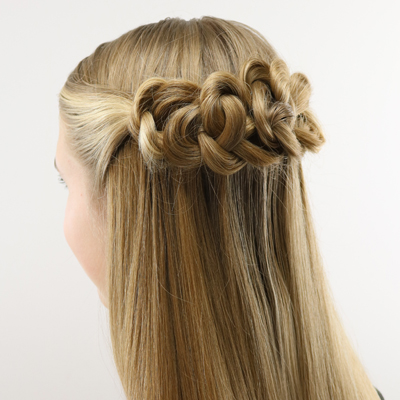 daisy chains hairstyle